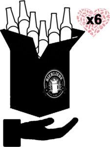 Bierliebe_Geschenk-Abonnement 6 Monate